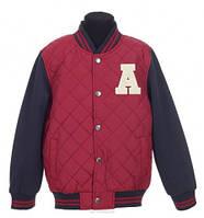 Подростковая спортивная куртка р.134-140 (арт.6506 кр.)