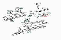 Патрубок вентиляции картера на Мерседес Спринтер 2.3D 1995-2000 Autotechteile (Германия)- A0134