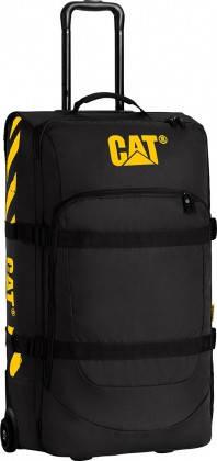 Дорожная сумка на колесах с выдвижной ручкой (67.5см./62л) CAT Wheel Loaders 83225 Черная