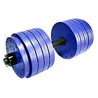 Наборная гантель Титан 35 кг для спортзала и домашнего использования.