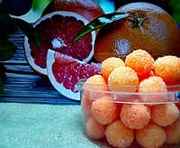 "Сахарный скраб для тела ""Чудесный грейпфрут"" HandMade (130г)"