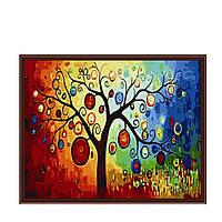 Картины по номерам на холсте - Денежное дерево