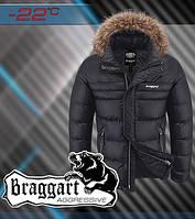 Куртка из водоотталкивающей ткани зимняя Braggart