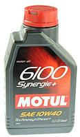 Масло моторное Motul 6100 Synergie+ 10W-40 1л