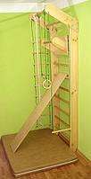 Спортуголок «Сосна» (деревянная шведская стенка) 230см