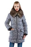 Удлиненная женская зимняя куртка
