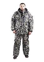 Зимний костюм для охоты и рыбалки (пиксель зелёный) алова