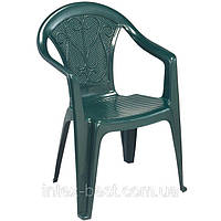 Пластиковое кресло Ole зелёное