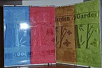 Набор бамбуковых полотенец 50х90см. 2шт. Цвета в ассортименте