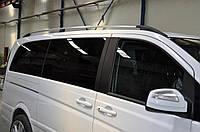 Рейлинги Mercedes Vito, Мерседес Вито 639 NEW короткая база хром CAN