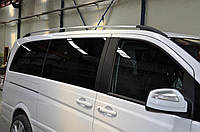 Рейлинги Mercedes Vito, Мерседес Вито 639 NEW средняя база. хром CAN