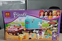 Конструктор Friends 10161 Эмма и трейлер для её лошадки