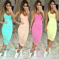 Сукня майка Ребекка / платье майка 9 кольорів