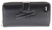 Кожаный черный женский кошелек барсетка с картхолдером SALFEITE art.2605L-67