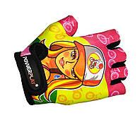Велоперчатки детские Power Play 5473 Barbie