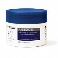 Маска для сухих и поврежденных волос с кератиновыми аминокислотами и витаминами 300 мл Tico Expertico