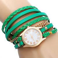 Часы-браслет - Зеленые