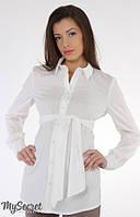 Блуза для беременных и кормящих Юла Мама Letti (молочный)