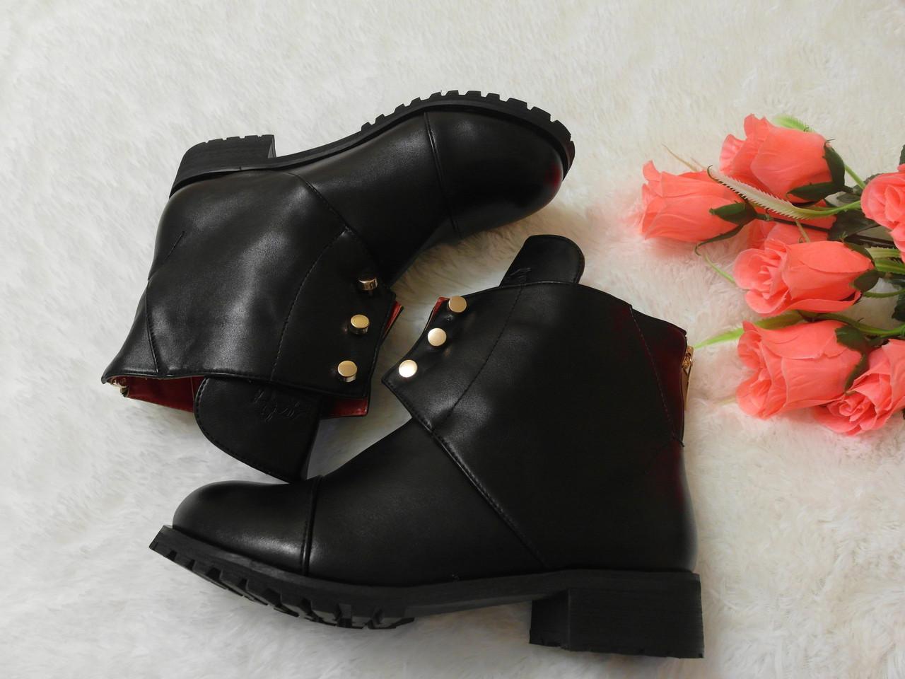 Фото ботинки на осень женские
