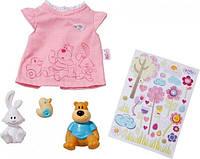Одежда для куклы футболка Baby Born Zapf Creation 819616