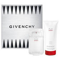 Мужской набор GIVENCHY PLAY SPORT POUR HOMME EDT50+S/G75+ COFF 50 мл