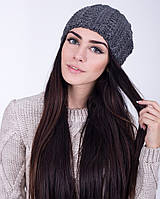 Зимняя вязаная шапка, фото 1