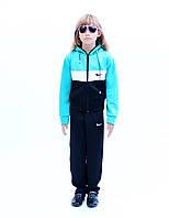 Детский спортивный костюм трикотажный - качественный стрейч-эластан