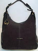 Женская замшевая сумка Silvia Rosa, коричневый цвет