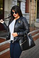 Куртка женская демисезонная большие размеры (цвета) А8001