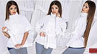 Модная женская куртка демисезон со съемными рукавами,норма 42+, ST-Style