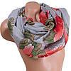 Элегантный женский шарф из хлопка 178 на 86 см  ETERNO (ЭТЕРНО) ES0908-8-6 разноцветный