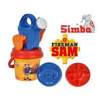 Ведерко с аксесуарами Пожарник Сем 9256110 SIMBA