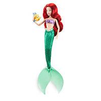 Кукла Ариэль Русалочка и рыбка Флаундер Ariel Classic Doll with Flounder Figure - 12'' Disney
