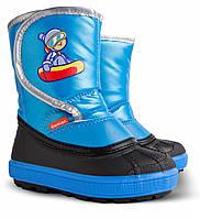 Сапоги зимние детские Demar Snow Boarder синий