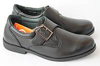 Детские школьные кожаные туфли Антилопа мальчикам р. 32-37 качество, комфорт