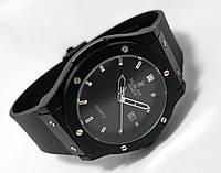 Мужские часы HUBLOT - GENEVE Black, цвет полностью черный