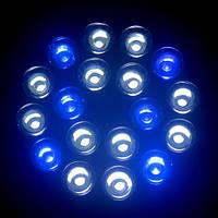 Лампа для подсветки аквариума 54W цоколь Е27 - фитолампа для роста рыб, водорослей и коралловых рифов, фото 1