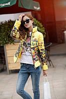 Лёгкая осенняя курточка с наполнителем (8 расцветок и 5 размеров)