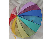 Детский зонт прозрачный Радуга