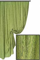 Ткань для штор мешковина оливка Мешковина № L510,  Турция
