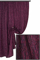 Ткань для штор мешковина фиолетовая Мешковина № L517,  Турция