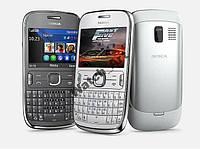 Nokia Asha 302 2 цвета Оригинал! Русс.клав.