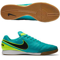 Футбольные бутсы для зала Nike Tiempo Genio II Leather IC 819215-307