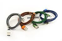 Кабель, шнур USB-MICRO USB провод усилен 1м