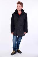 Модное демисезонное пальто для мальчика