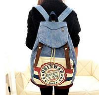 Портфель рюкзак сумка школьная Студент Джинс