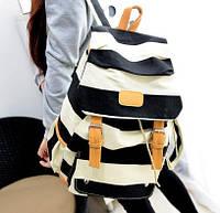 Портфель рюкзак сумка школьная Студент полосатый
