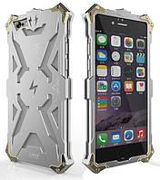 SIMON THOR Alloy Aluminium Protector High Quality Metal Sceleton Body Case для iPhone 5/5S Silver