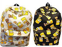 Рюкзак портфель сумка школьная детская Симпсоны