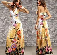 Шикарное женское платье вечернее Длинное